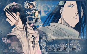 Byakuya Wallpaper 2 by MasterKenny