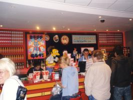 The Simpsons Moe's Tavern by AngelOfDreamz