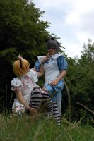 Alois and Ciel Wonderland I by Eirikun