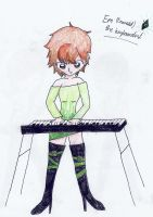 Em the keyboardist by derpykittykat