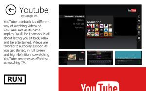 Youtube for Windows 8 by MetroUI