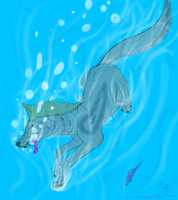 Take a dive into my world.. by CrimsonnWolf