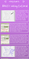 BASIC Inking Tutorial by rosychan