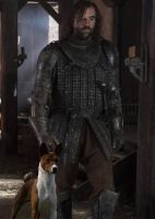 Sandor Clegane and His Daemon by LJ-Todd