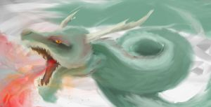 Chinese Dragon by TheMPXY