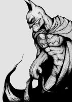 Batman by TomallicA