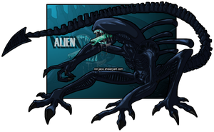 Alien by Ninjaco