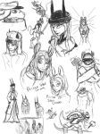 Russia Sketches by Cynthetic-art