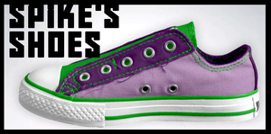 Spike's Shoes by Cookye306