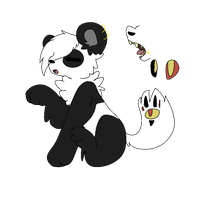 Panda Beast Puppeteer by Poison-Tiger