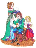 The Cobbler and His Sisters by Ai-Don