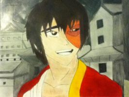 Colored Zuko by FlareonRocks