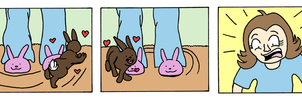 Bunny Slippers by Stella265