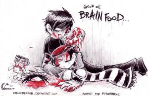 He's BRAIN FOOD by Chocoreaper