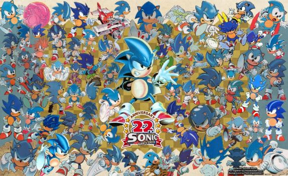 Sonic The Comic's 22nd Anniversary! by UltimateFrieza