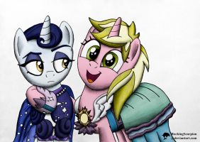 The Royal Sisters by RockingScorpion