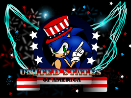 Sonic on July 4th by Hyperchaotix
