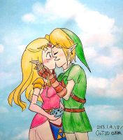 Don't let her play the ocarina by Derochi