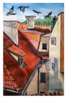 Roofs of Prague by DariaGALLERY