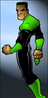 Green Lantern - Colored by centric-prometheus