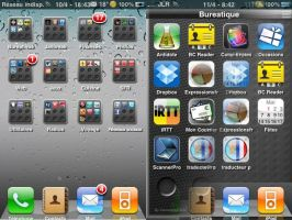 Iphone folders OS 4.0 by cameleonhelp