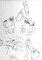 Kenshin sketches by suletyel