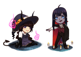 [C] Halloweiner Cheebs by Sakokii