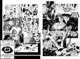 The Tribe Of The God Of War Pages 04-05 - Letters by Docolomansky
