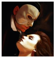 Phantom of the Opera by MaayaInsane