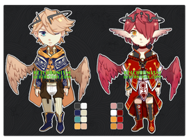 Batch Adoptables 3: Mythical Type (CLOSED) by HEICHOUNISM