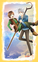 Jack and Hiccup by lunallachi