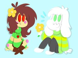 Flowers by ForestHeart74
