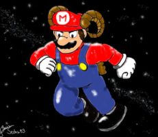 Zodiac Mario_The Ram by Sedna93