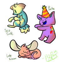 ADOPTABLES Set 3 ONE LEFT by KuyaLoko