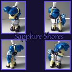 Sapphire Shores by SoulveiWinterfall