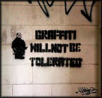 Graffiti Will Not Be Tolerated 01 by xHaStexo