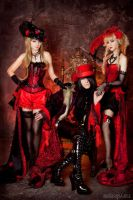 Trio in red by SelenaAdorian