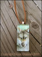 Tranquility Glass Pendant by thornwolf