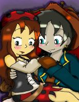 Anne and John x3 by Steampunky-Bunny-Boo