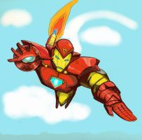 Iron Man Colored by schris91