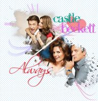 Caskett Always by malshania