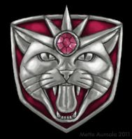 Catra's Shield Redesigned by Osmatar