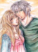 William and Ophelia by Phadme