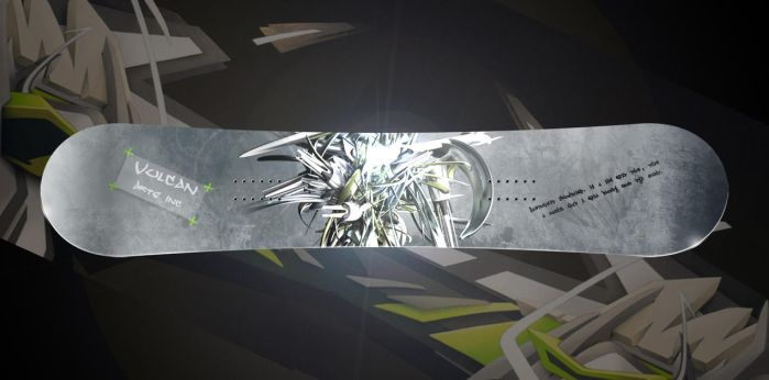Snow board design. by thoshi11