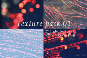 Texture pack 01 - lights. by piitou