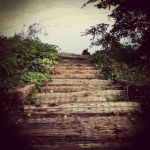 Stairway To the river by ALensInTime