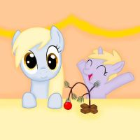 Derpy and Dinky: Little Tree by Poppun
