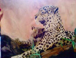 Leopards by turanneth