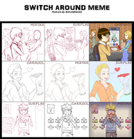 Switch Around Meme by Carotah