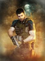 Chris Redfield by AnubisDHL